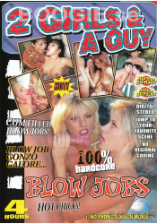 2 Girls & A Guy - Blow Jobs - Erotik DVD
